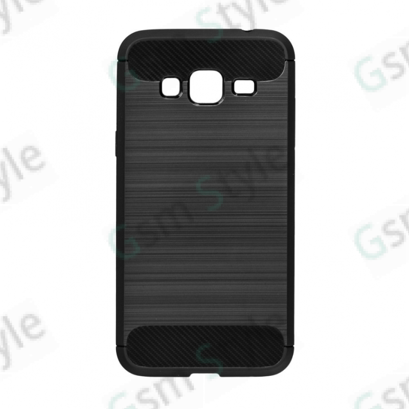 Coque Forcell carbone Samsung Galaxy J3 2016